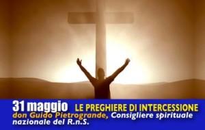 Le preghiere di intercessione